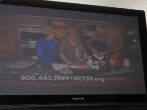 OMG, I'm really on TV!